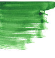 greenery paint background vector image