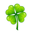 saint patricks day irish four leaf vector image