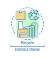 zero waste lifestyle trash repurpose industry vector image vector image