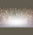 abstract light background with bright shiny set vector image
