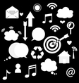 Application icons design vector image vector image