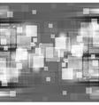 Dark shiny hi-tech background vector image vector image