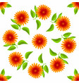 Floral seamless pattern watercolor flowers