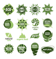 icons of natural products vector image vector image
