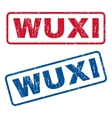 Wuxi Rubber Stamps vector image vector image