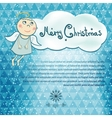 Christmas simple background vector image