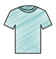 cotton casual tshirt icon vector image