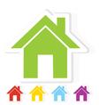 Home symbol vector image vector image