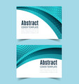 horizontal banner set3 vector image