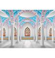 interior mosque vector image