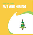 join our team busienss company christmas calendar vector image vector image
