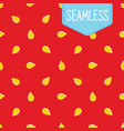 seamless pattern of strawberry vector image
