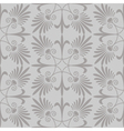 Seamless patternfloral ornament vector image