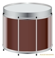 The Drum vector image