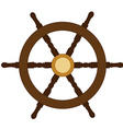 Ship wheel vector image