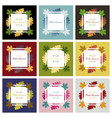 autumn season banner greeting card with vector image vector image