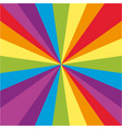 background design with rainbow beams vector image