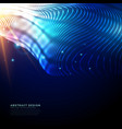 futuristic technology background made with vector image vector image