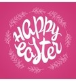 hand drawn easter lettering greeting quote vector image vector image