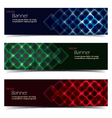 Horizontal Banner Set vector image
