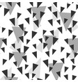 triangle seamless pattern sketch vector image vector image