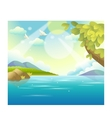 Water Landscape vector image vector image