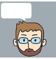 Man Talk vector image