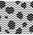 abstract seamless pattern dot and zig-zag line vector image vector image