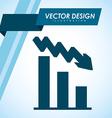 arrow infographic design vector image vector image