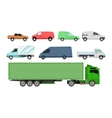 Car vechicle transport isolated vector image vector image