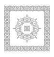 Ethnic Circle Element Orient Design Mandala vector image