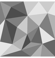 Grey flat triangle background or seamless pattern vector image