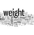 how to get past a weight loss plateau vector image vector image