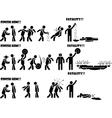 ICON MAN FATALITY 1 DI 3 vector image vector image