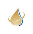 oil olive logo vector image vector image