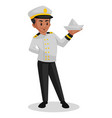 sailor cartoon vector image