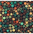 Seamless Jumble Multicolor Brown Teal vector image vector image