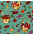 Summer seamless pattern bakground vector image