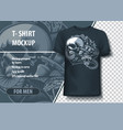 viper skull and tattoo machines fully editable vector image vector image
