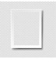 frame isolated transparent background vector image vector image