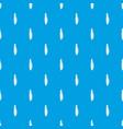 fresh peas pattern seamless blue vector image vector image