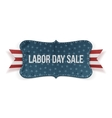 Labor Day Sale national Banner vector image vector image