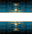 Pattern mirror vector image