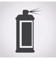 spray icon vector image