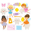 tooth fairy clipart vector image vector image