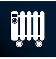 Typical heater filled radiator icon symbol vector image