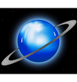 Uranus planet vector image vector image