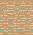beach lettering seamless pattern vector image