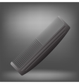 Grey Comb vector image