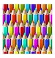 seamless pattern pencils vector image